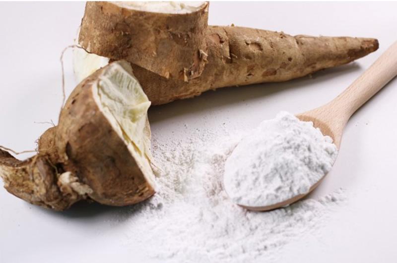 Thành phần tinh bột sắn trong bánh tráng