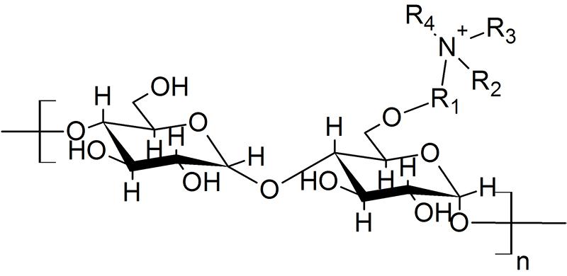 Cấu trúc tinh thể tinh bột cationic