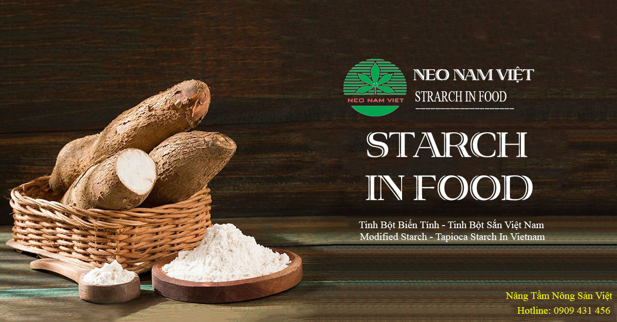 Tinh bột Neo Nam Việt, nâng tầm nông sản Việt