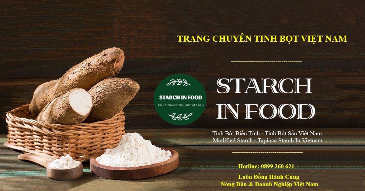 Tinh bột Starch In Food Việt Nam, nâng tầm nông sản Việt