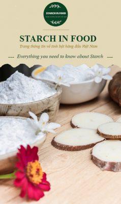 Sản phẩm tinh bột sắn biến tính tại Starch In Food Việt Nam